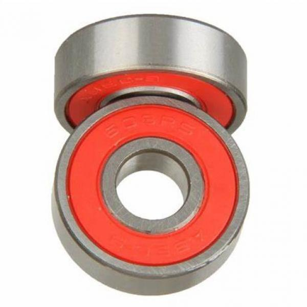 Flange Mounted Miniature Ball Bearings with Extra Width Inner Ring Model Sfr144zzee ABEC-5 #1 image